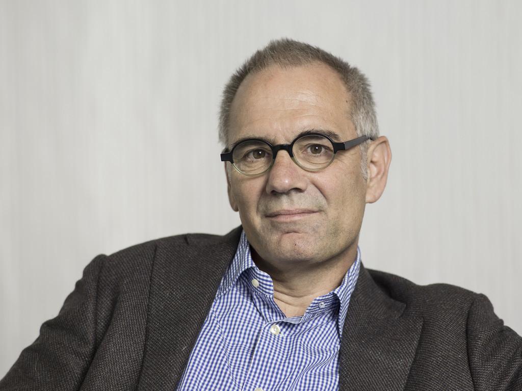 Kurzes Gastspiel als «Blick»-Chefredaktor: René Lüchinger. Foto: Christian Beutler (Keystone)