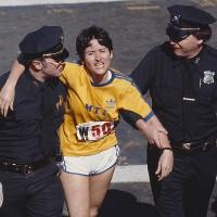«Verletzt», verlogen, verloren: Rosie Ruiz in Boston 1980.