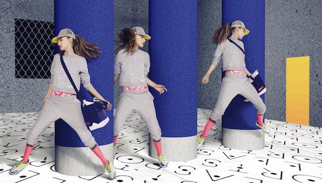 «Active wear is everywhere»: Wer auch im Alltag Fitnesskleidung trägt, signalisiert Jugend und Sportlichkeit. Foto: Adidas by Stella McCartney