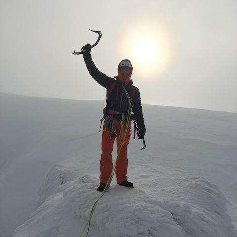 Auf dem Gipfel: Mit «Anubis» knackte Dani Arnold seine «bisher schwierigste Mixed-Route».