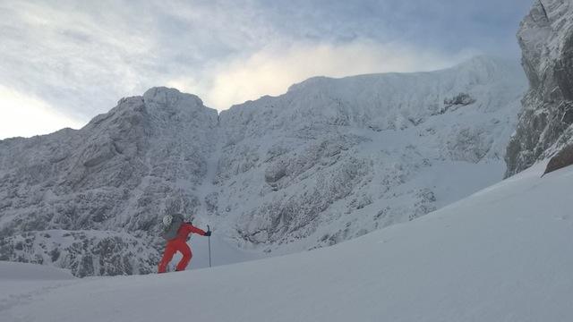 Im Winter in Schottland zu klettern ist nicht jedermanns Sache: Zu kalt, zu abgelegen, zu mühsam.
