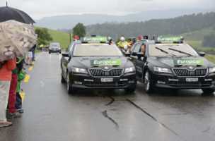 Die Tour de Suisse auf der zweiten Etappe zu Gast im Säuliamt durch Ebertswil, Kappel, Uerzlikon, Rossau, Knonau zurück zum Ziel in Baar, am Sonntag, 12. Juni 2016. Foto Martin Platter