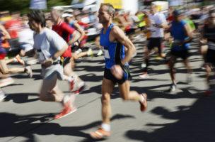 Marathon – der Durst nach dem Leben? Foto: Steffen Schmid (Keystone)