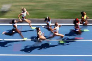 800-Meter-Läuferinnen an den Olympischen Sommerspielen 2016 in Rio de Janeiro. Foto: Matt Campbell (EPA, Keystone)