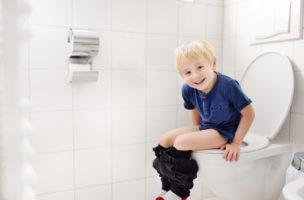 Halten Sie Ihre Kinder von öffentlichen Toiletten fern!