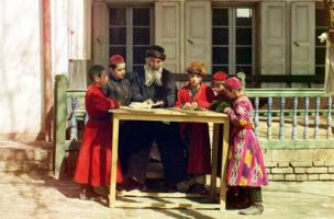 100-jährige Farbfotos aus Russland