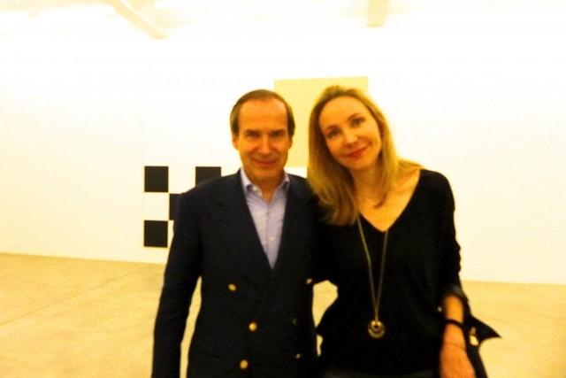 Simon de Pury und Michaela Neumeister