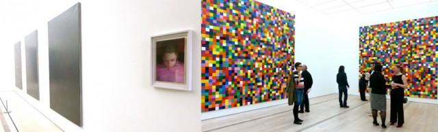 Leise: Der graue Saal mit «Ellla» und laut: «4900 Farben»