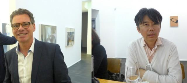 Künstler und Philanthrop Noritoshi Hirakawa, Galerist Joe Felchlin
