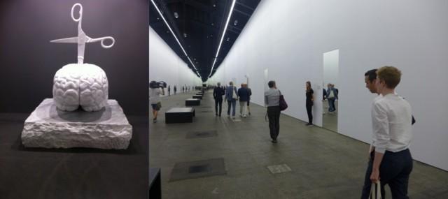 Ein Werk von Jan Fabre, «14 Rooms»