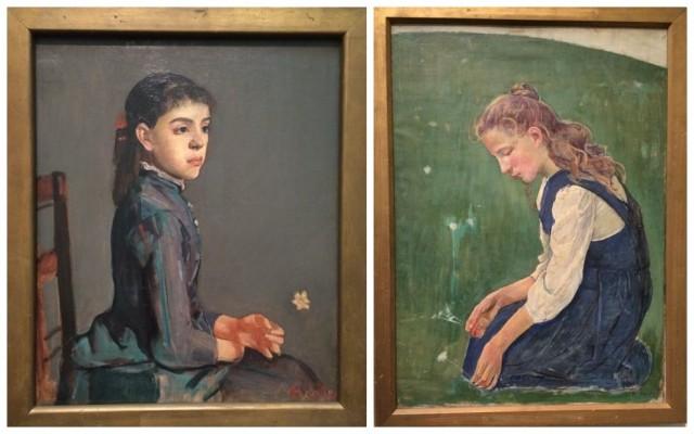 Hodlers «Mädchen mit Blumen»