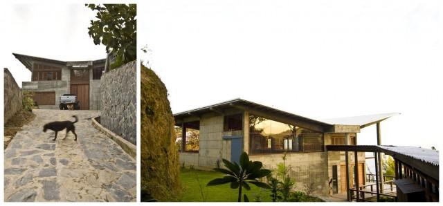 Peter Doigs eigenes Haus auf Trinidad