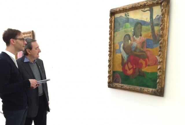 Noch in Basel: «Nafea faa ipoipo» in der Gauguin-Ausstellung in der Fondation Beyeler