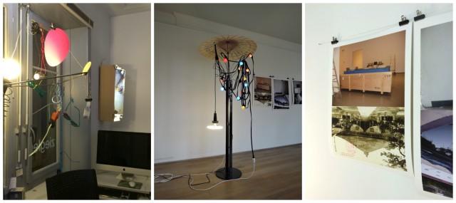 Werke China Garden, 2014, Fontaine, 2008, Spiegelung, 2014