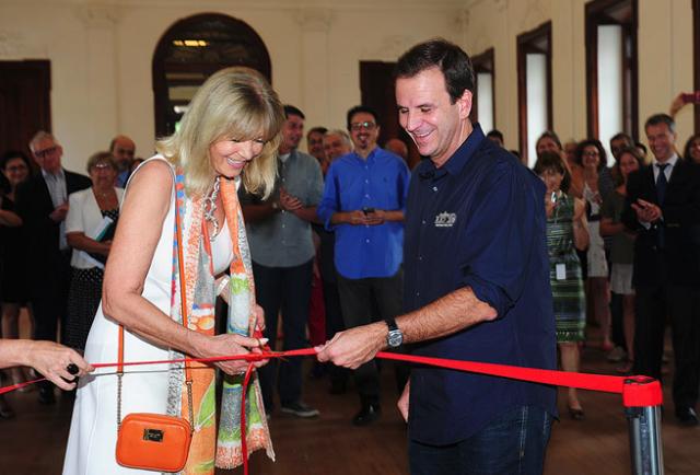 Die Euphorie des Anfangs: Ruth Schmidheiny eröffnet die Casa Daros im März 2013