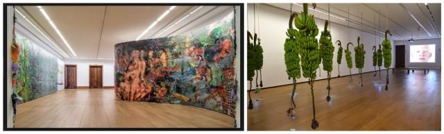Ausstellungsansichten aus der Casa Daros: Fabio Marcacci (links), kubanische Kunst
