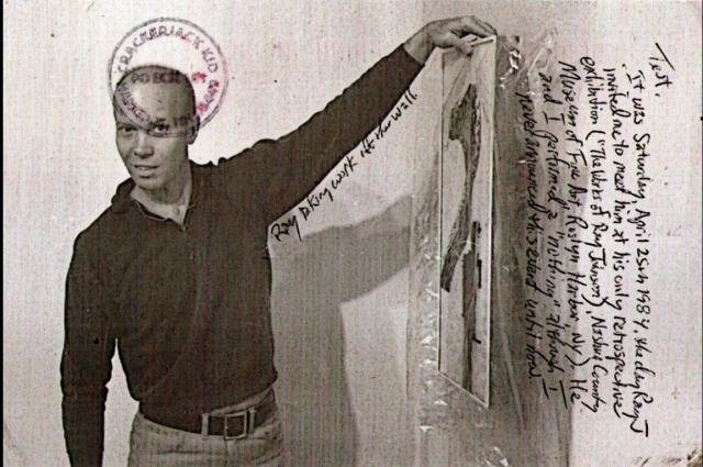Ray Johnson (1927-1995), der Erfinder von Mail Art und so manchem anderen