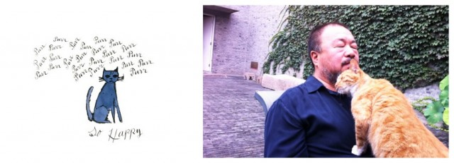 Warhols «So happy» (links), eine Edition von Ai Wewei