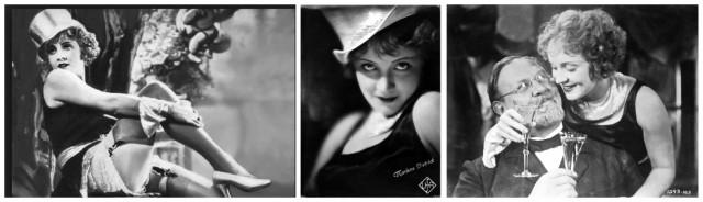 """Die """"Gommeuse"""" als Vorbild? Marlene Dietrich als Nachtclub-Tänzerin Lola Lola"""