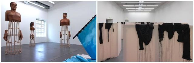 Installation von Latifa Echakhch im Haus Konstruktiv