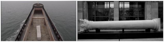 «The Column» am Anfang und am Schluss der Reise