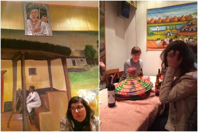 Restaurant Habesha: Buntes äthiopisches Essen und eriträisches TV