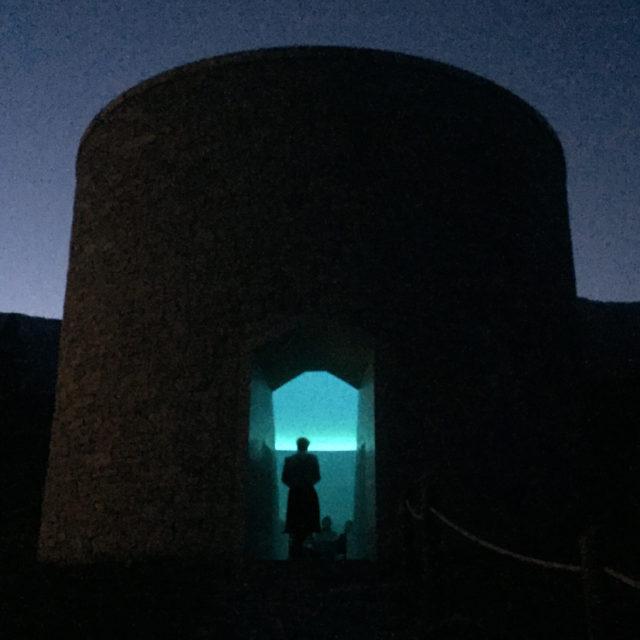 Das Art-Weekend-Ritual: Beim Einnachten besucht man den Sky Space von James Turrell