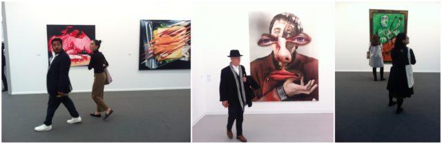 Frieze London: Sammler in Sneakers, Urs Fischers (mitte) und Picasso bei Helly Nahmad