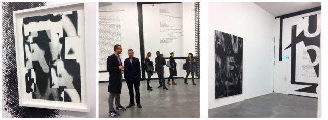 Black Dada! Die eindrücklichen Räume der Galerie Presenhuber mit Pendletons Installation «Midnight in America».