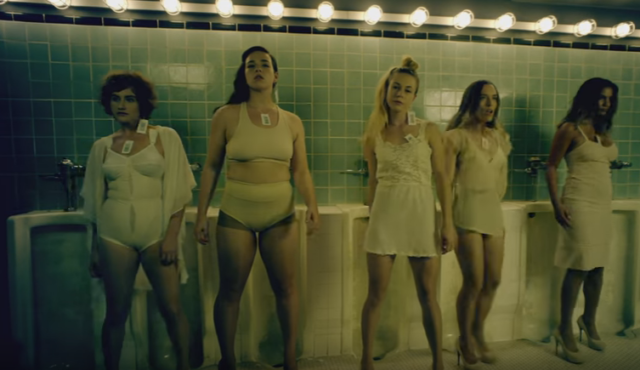 Subversiver Tanz im Pissoir: Aus dem Video «Straight Outta Vagina». Foto: Youtube