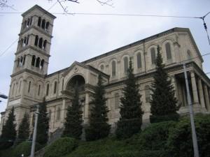 Tatort Mord: Die Liebfrauenkirche in Zürich.
