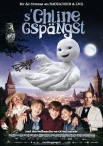«S'Chline Gspängst» läuft ab 26. Septemer in den Basler Kinos Pathé Küchlin (Hochdeutsch) und Rex (Dialekt).