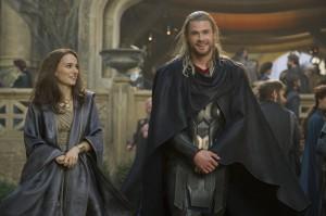 Traumpaar zwischen den Welten: Jane und Thor.