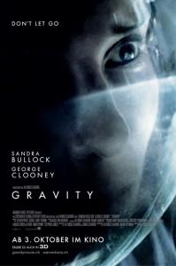 «Gravity» läuft ab 3. Oktober 2013 in den Basler Kinos Pathé Küchlin und Rex.
