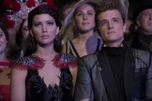 Sieht so ein Traumpaar aus? Katniss und Peeta.