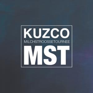Milchstroossetournee: Kuzcos Debut enthält u.a. Features von Black Tiger, Shape, Céline Huber, den Tafs und Fetch.