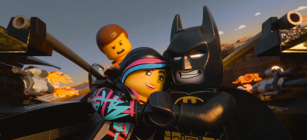 Liebespaar: Wyldstyl gehört leider schon Batman. (Bilder: Keystone)