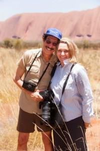Die Originale: Rick Smolan und Robyn Davidson.