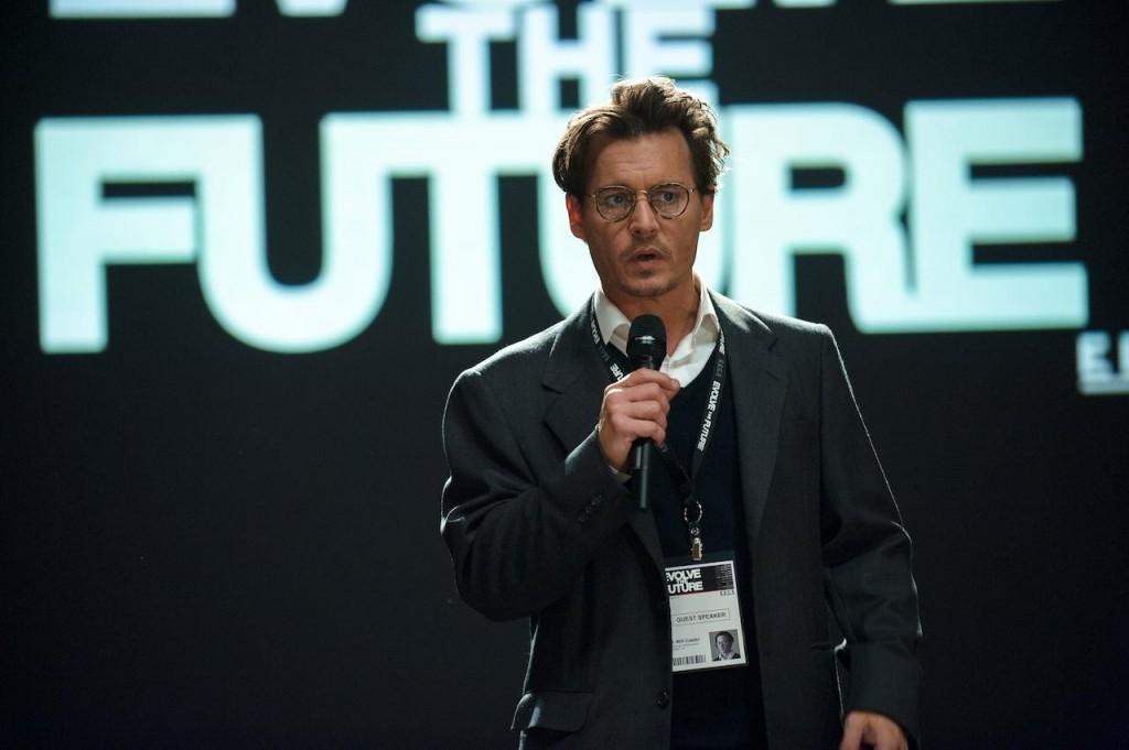 Auf Investoren Suche: Dr, Will Carter beim Symposium über die Zukunft der künstlichen Intelligenz und was damit alles möglich wäre.