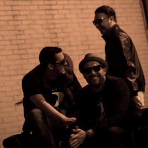 Das PW-Trio: Sandro Purple Green, Jakebeatz und Manoo.