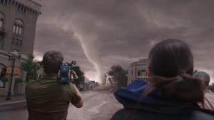 Da ist er doch! Der Tornado in Silverton.