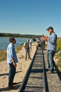 Regie-Oscargewinner lernt von Regie-Altmeister: Ben Affleck und David Fincher.