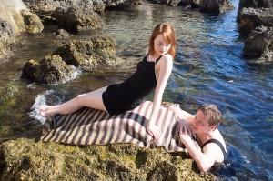 Akteure auf Augenhöhe: Emma Stone und Colin Firth.