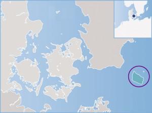 Dänische Exklave: Die Insel Bornholm.