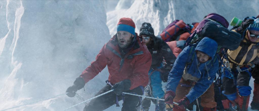 In Schwierigkeiten: Rob am Everest.