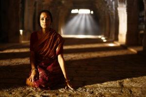 Leidet in Indien: Ramanujans Frau Janaki.