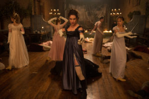 Auf alles vorbereitet: Elizabeth Bennet und ihre Schwestern.