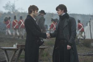 Freunde auch im Krieg: Mr. Bingley und Mr. Darcy.