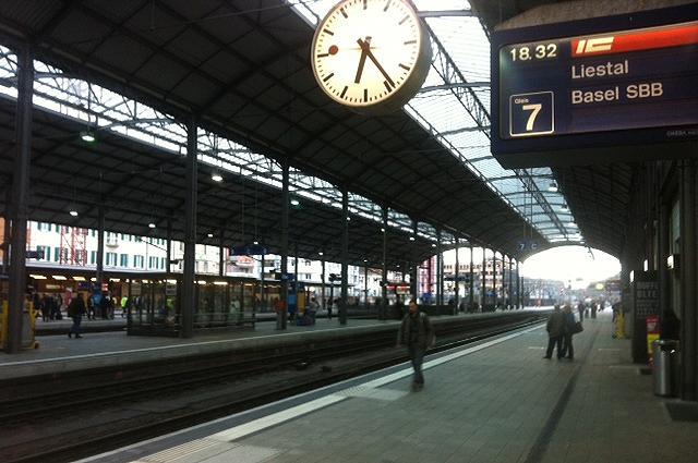 Das kennen die Meisten von Olten: Den Bahnhof