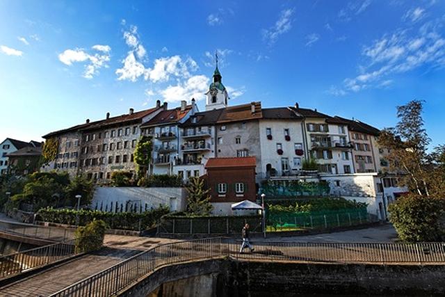 Nicht nur eine Durchfahrt wert: Oltens Altstadt